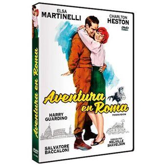 Aventura en Roma - DVD