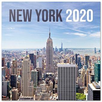 Calendario de pared 2020 Erik 30x30 multilingüe New York Color