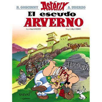 Astérix Nº 11 - El escudo arverno