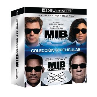Pack Men in Black 1-4 - UHD + Blu-Ray