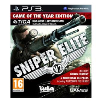 Sniper Elite V2 Game of the Year PS3