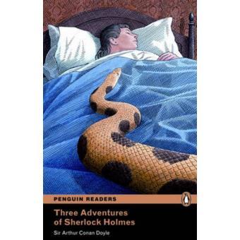 Three adventures of Sherlock Holmes + CD Level 4 Intermediate