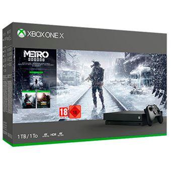 Consola XBox One X 1TB + Saga Metro Exodus - 2023 Redux - Last Light Redux