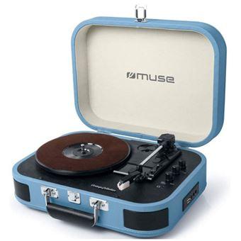 Tocadiscos Muse MT-201 Azul