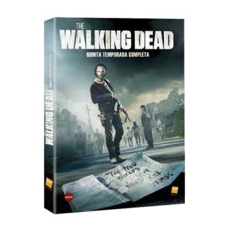 The Walking DeadThe Walking Dead  Temporada 5 + DVD Extras - Exclusiva Fnac - DVD