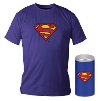 Camiseta Superman Logo Azul (Exclusiva Fnac)