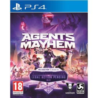 Agents of Mayhem Edición Day One PS4