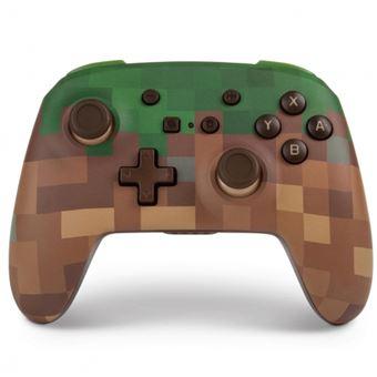 Mando inalámbrico Power A Minecraft para Nintendo Switch