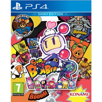 Super Bomberman R - Shiny Edition PS4