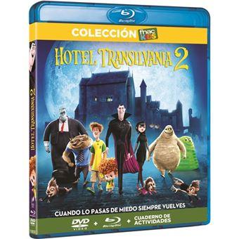 Hotel Transilvania 2 - Blu-Ray + DVD + Libro - Exclusivo Fnac