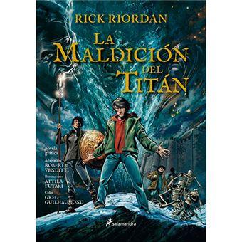 Percy Jackson y los dioses del Olimpo III - La maldición del Titán - Novela gráfica