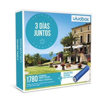 Caja regalo VivaBox Tres días juntos