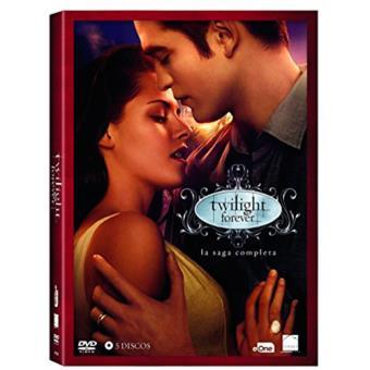 Pack Crepúsculo   Saga Completa - DVD