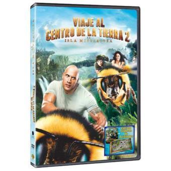 Viaje al centro de la Tierra 2: La isla misteriosa - DVD