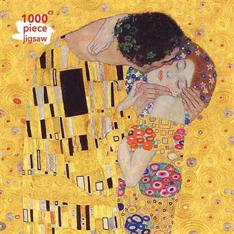 Puzzle Gustav Klimt: The Kiss: 1000 piezas