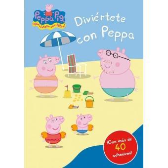 Diviértete con Peppa Pig + 40 adhesivos