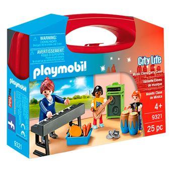 Playmobil City Life Maletín clase de música
