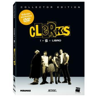 Pack Clerks + Clerks II + Libreto - Exclusiva Fnac - DVD