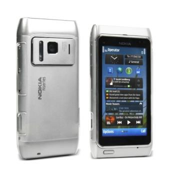 c6e6ae9055a Muvit Cristal Funda Transparente para Nokia N8 - Teléfono libre ...
