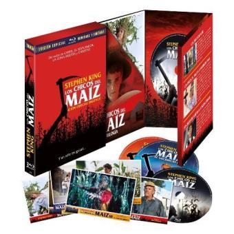 Los chicos del maiz  1-3  Edición coleccionista lenticular y numerada - Blu-Ray