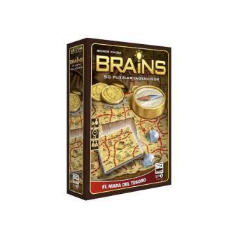 Brains: Mapa del Tesoro - 50 puzles ingeniosos