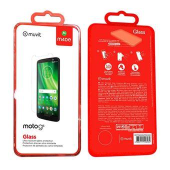 Protector de pantalla Made for Motorola Cristal templado para Moto G6