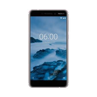 """Nokia 6.1 5.5"""" 32GB Plata/acero"""