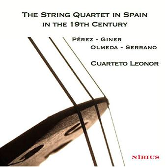 The String Quartet in Spain in the 19th Century