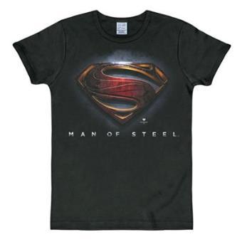 Camiseta Man of Steel Logo m