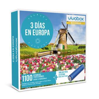 Caja regalo VivaBox Tres días en Europa