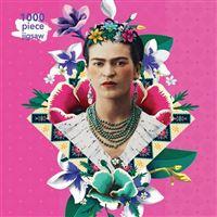 Puzzle Frida Kahlo Pink: 1000 piezas