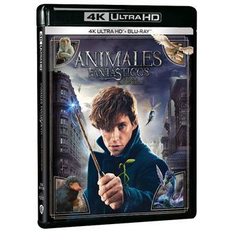 Animales Fantásticos Y Dónde Encontrarlos Uhd Blu Ray David Yates Eddie Redmayne Ezra Miller Fnac