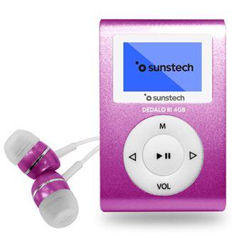 MP3 Sunstech Dedalo III 8GB Rosa