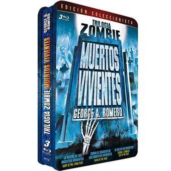 Trilogía Zombi: muertos vivientes - Steelbook Blu-Ray