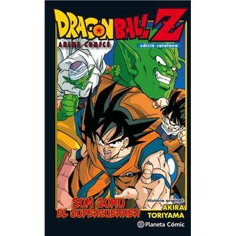 Dragon Ball Z Anime Comic Son Goku El Superguerrer.