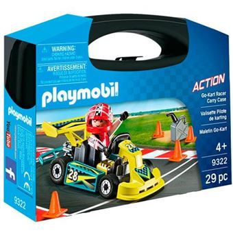 Playmobil City Action Go-Kart Racer Carry Case