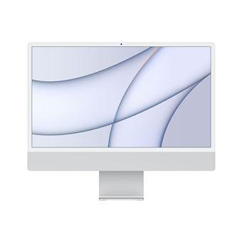 iMac con Pantalla Retina 4.5K 24'' M1 8C/8C 8/256GB Teclado numérico Plata