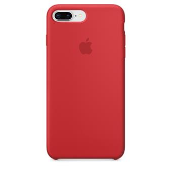 2a4f63eb767 Funda Apple Silicone Case Rojo para iPhone 7 Plus/8 Plus - Funda ...