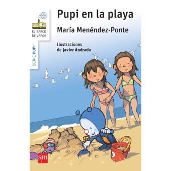 Pupi en la playa