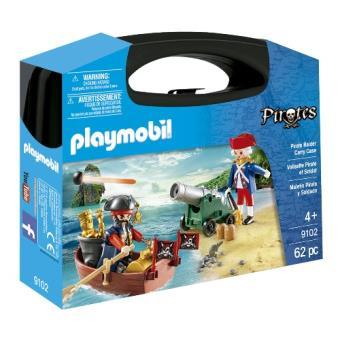 Playmobil Maletín pirata y soldado (9102)