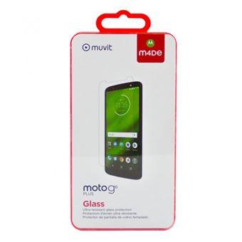 Protector de pantalla Made for Motorola Cristal templado para Moto G6+