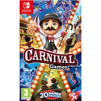 Carnival Games Nintendo Switch Para Los Mejores Videojuegos Fnac