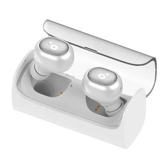 Auriculares Bluetooth Sunstech Wavepods blancos