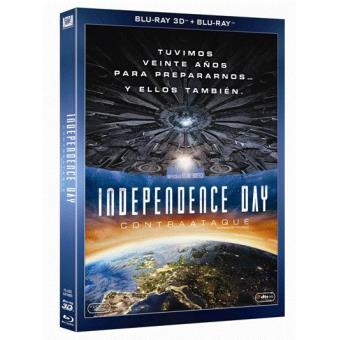 Independence Day: Contraataque - Blu-Ray + 3D