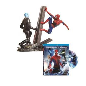 Pack The Amazing Spider-Man 2: El poder de Electro + Figura - Blu Ray - Exclusivo internet
