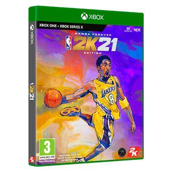 NBA 2K21 Mamba Forever Edition Xbox One