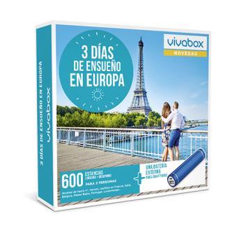 Caja Regalo VivaBox - 3 días de ensueño en Europa