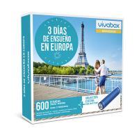 Caja regalo VivaBox Tres días de ensueño en Europa