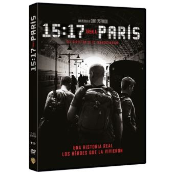 15:17 Tren a París - DVD