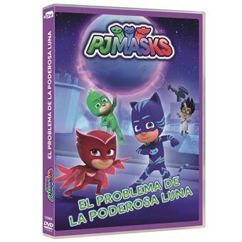 PJ Masks: El problema de la poderosa luna - DVD